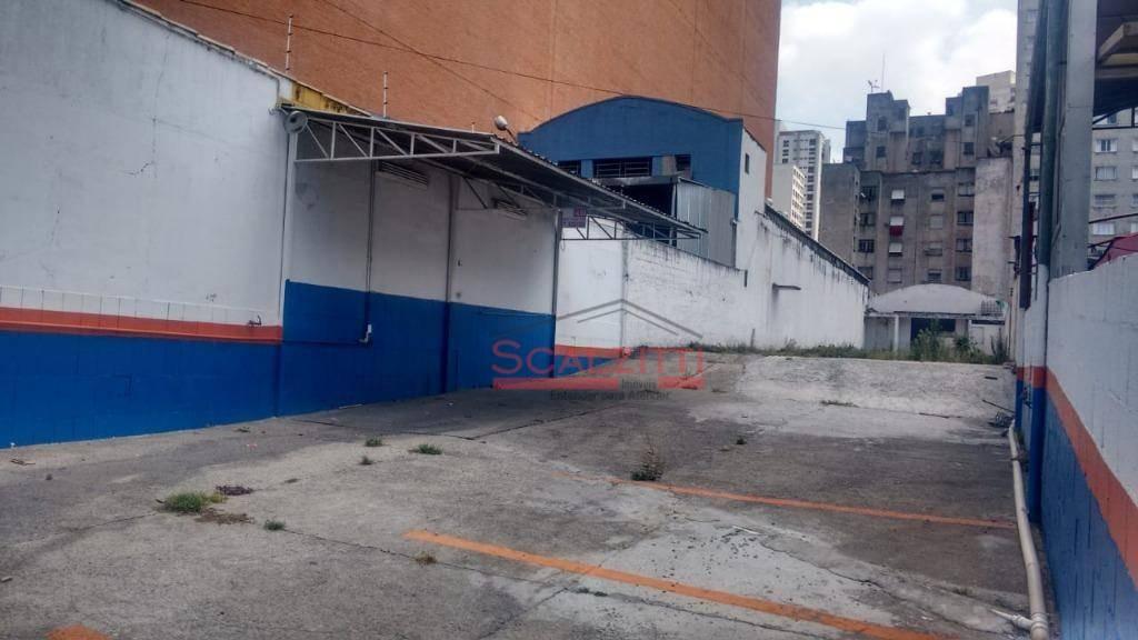 terreno para alugar, 1200 m² por r$ 11.000,00/mês - barra funda - são paulo/sp - te0017