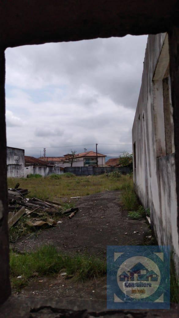 terreno para alugar, 1200 m² por r$ 12.000/mês - cidade naútica - são vicente/sp - te0034