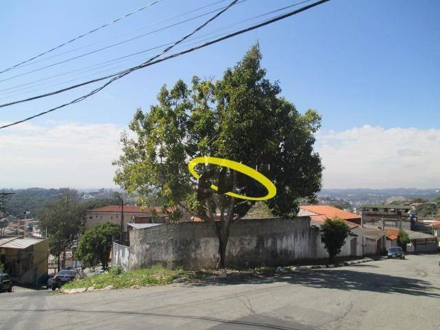 terreno para alugar, 160 m² por r$ 7.000,00/mês - jardim carmel - cotia/sp - te0826