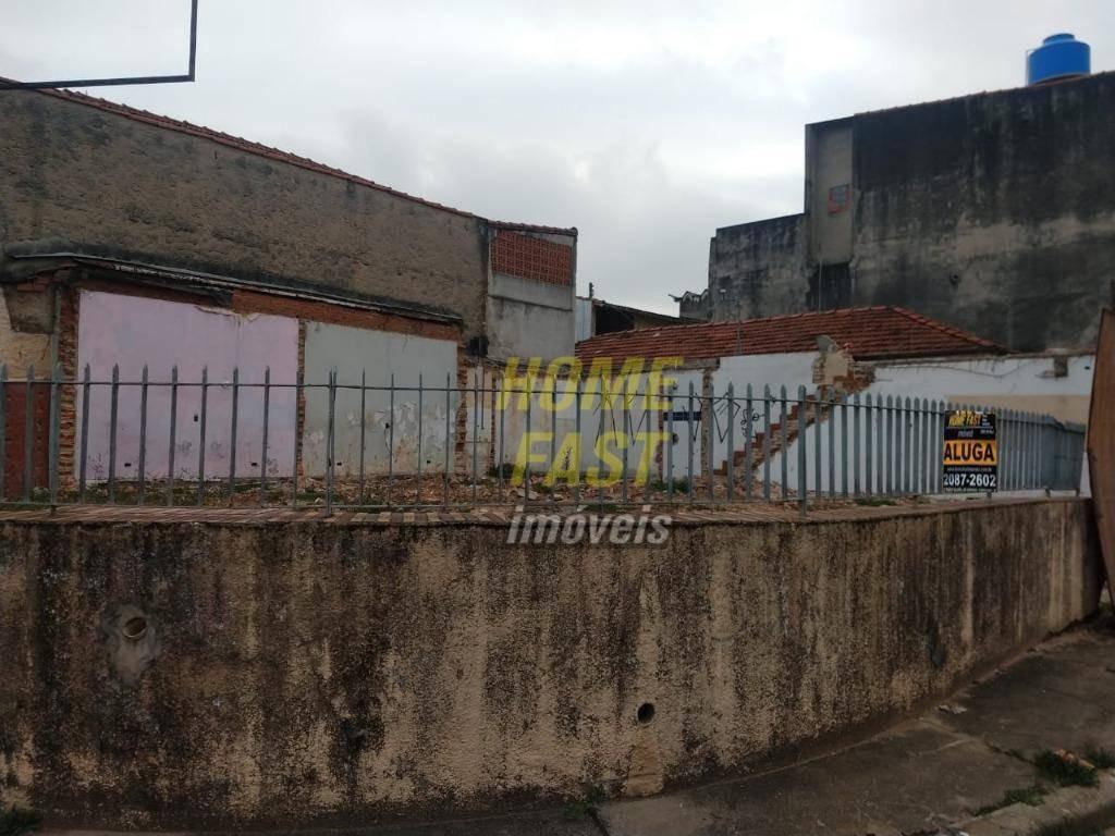 terreno para alugar, 180 m² por r$ 2.500,00/mês - vila capitão rabelo - guarulhos/sp - te0156