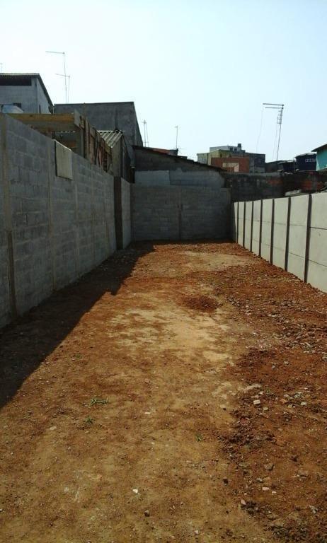 terreno para alugar, 181 m² - jardim são joão - guarulhos/sp - te0623