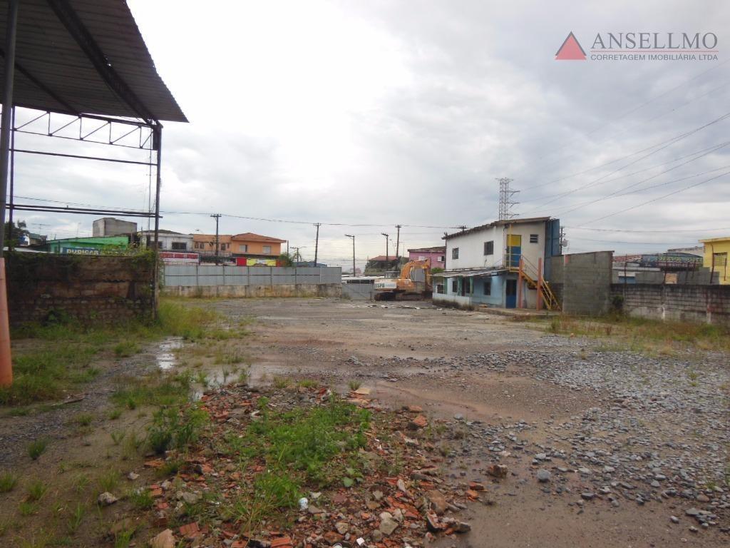 terreno para alugar, 2000 m² por r$ 12.000,00/mês - dos casa - são bernardo do campo/sp - te0056