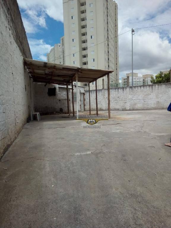 terreno para alugar, 230 m² por r$ 1.800,00/mês - jardim vila formosa - são paulo/sp - te0039