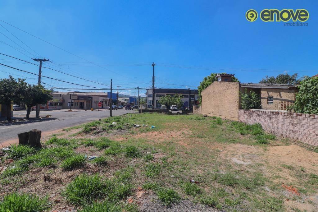terreno para alugar, 303 m² - lira - estância velha/rs - te0327