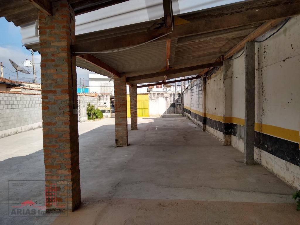terreno para alugar, 350 m² por r$ 2.500/mês - centro - mogi das cruzes/sp - te0019