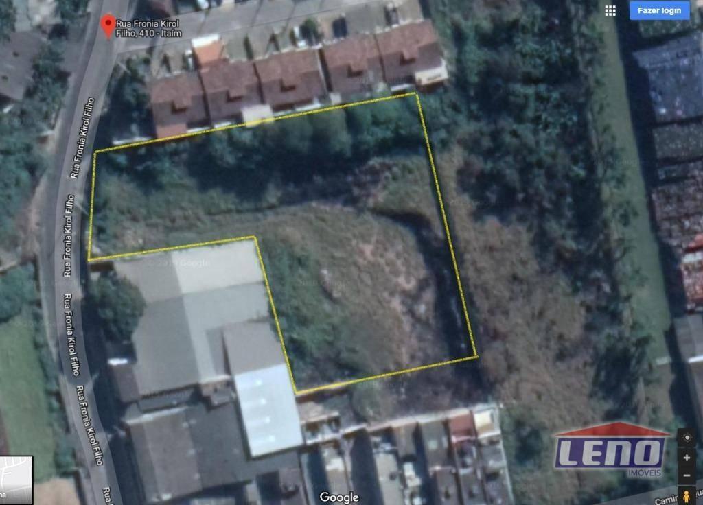 terreno para alugar, 3500 m² por r$ 5.000,00/mês - jardim maria de lourdes - guarulhos/sp - te0054