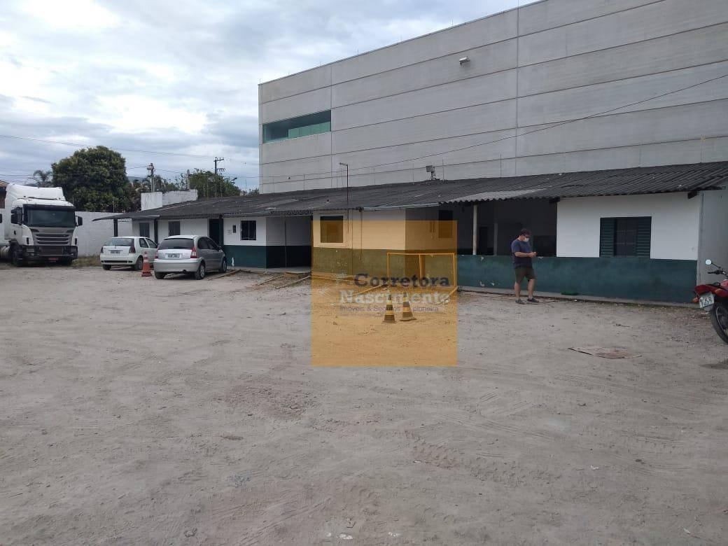 terreno para alugar, 3700 m² por r$ 8.000,00/mês - jardim santa maria - jacareí/sp - te0504