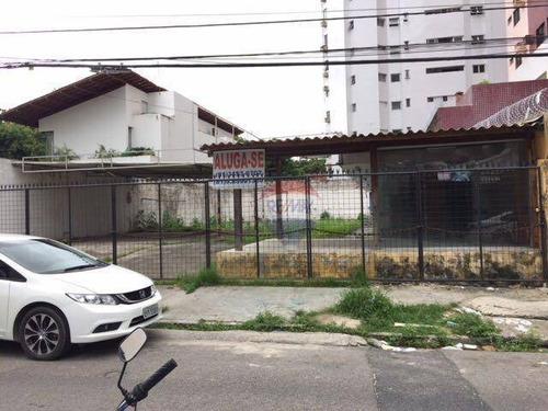 terreno para alugar, 380 m² - graças - recife/pe - te0014
