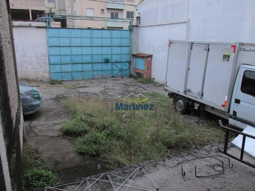 terreno para alugar, 396 m² por r$ 4.000,00/mês - chácara belenzinho - são paulo/sp - te0046