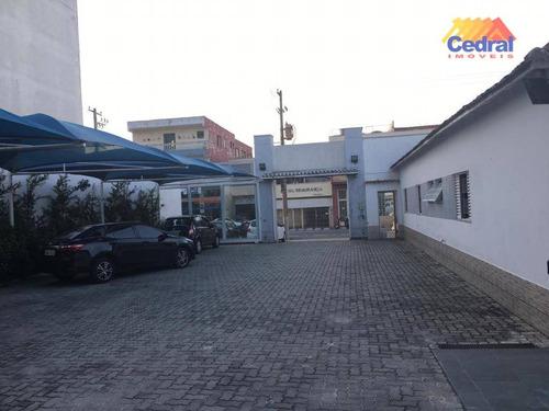 terreno para alugar, 400 m² por r$ 3.500/mês - centro - mogi das cruzes/sp - te0239
