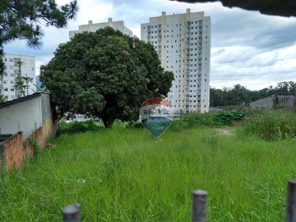 terreno para alugar, 420 m² por r$ 4.000/mês - jardim armênia - mogi das cruzes/sp - te0024