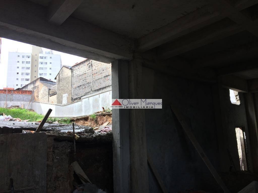 terreno para alugar, 420 m² por r$ 6.000,00/mês - bela vista - osasco/sp - te0241