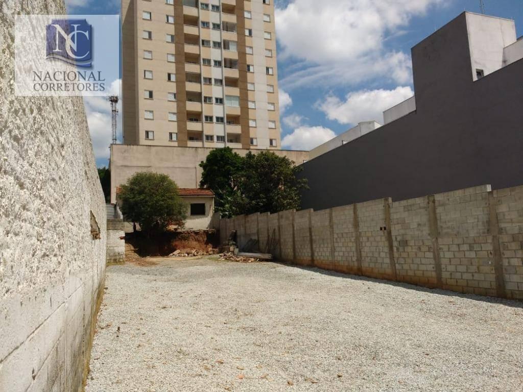terreno para alugar, 500 m² por r$ 4.500/mês - centro - são bernardo do campo/sp - te1005