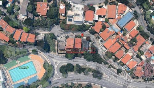 terreno para alugar, 506 m² por r$ 10.000/mês - pacaembu - são paulo/sp - te0034