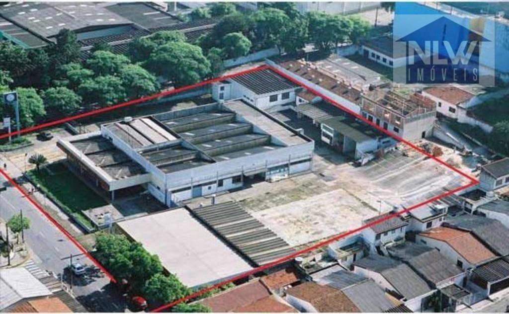 terreno para alugar, 6429 m² por r$ 29.000/mês - rudge ramos - são bernardo do campo/sp - te0009