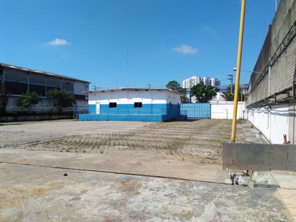 terreno para alugar, 6500 m² por r$ 52.000,00/mês - planalto - são bernardo do campo/sp - te4119