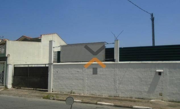 terreno para alugar, 900 m² por r$ 4.000/mês - parque das nações - santo andré/sp - te0002
