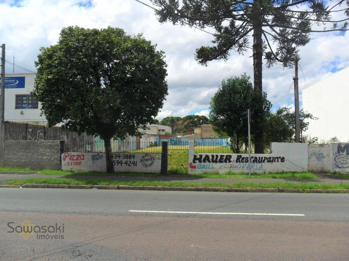 terreno para alugar no bairro hauer em curitiba - pr.  - 7168-2