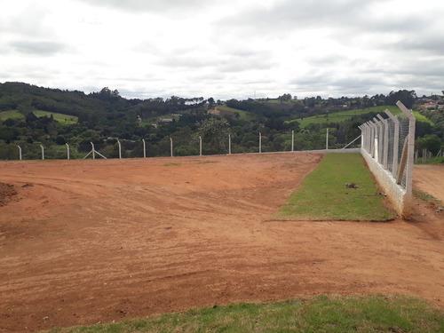 terreno para chácara de 1.000 m2, 100% plano, com portaria