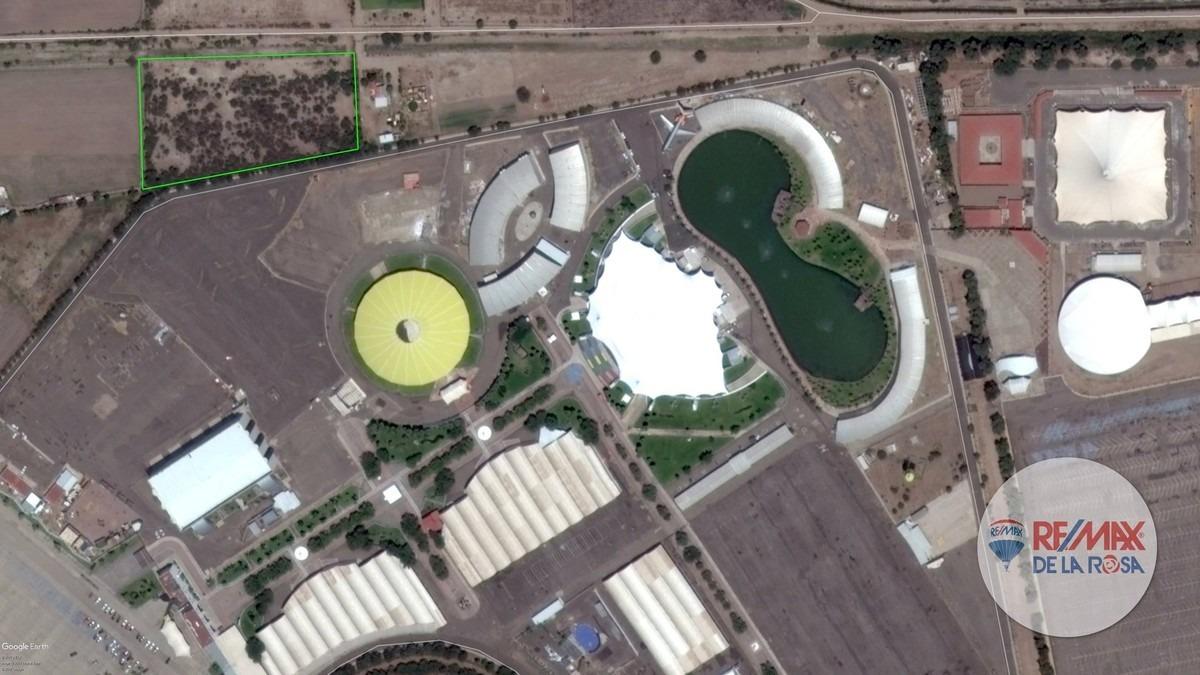 terreno para desarrolladores, junto a las instalaciones de la feria