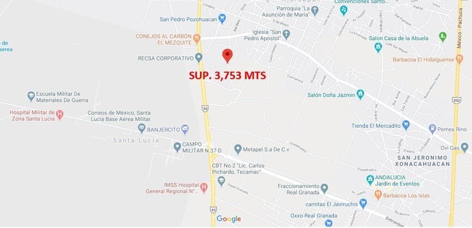 terreno para escuela, industria o vivienda, sup. 3753 mts