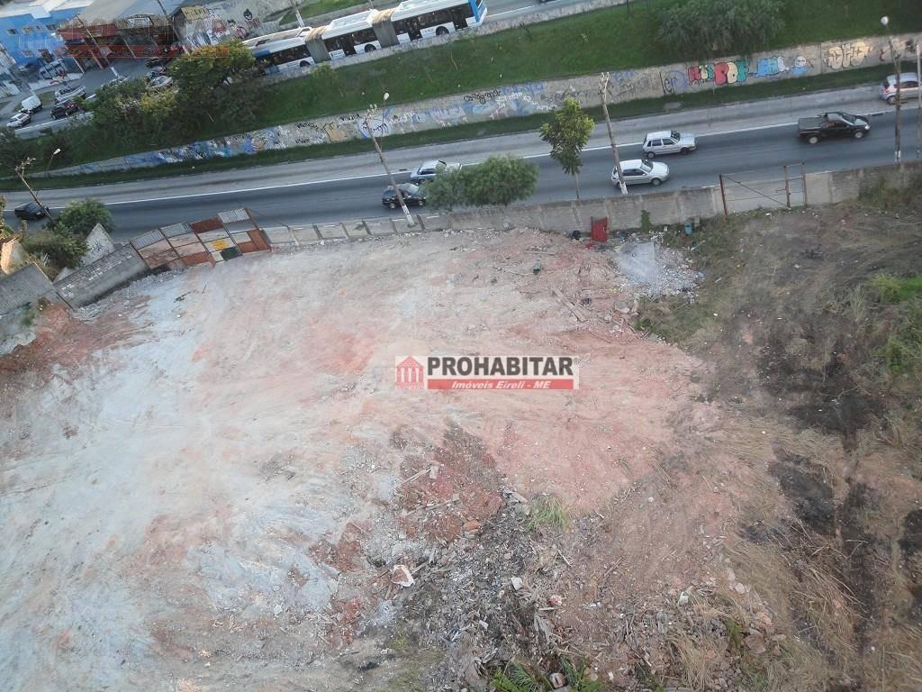 terreno para locação cidade dutra, área comercial com 1440 m² - te0832