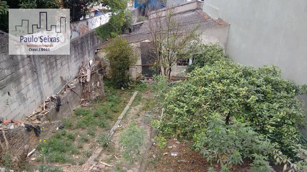 terreno para prédio comercial - vila romana - te0012