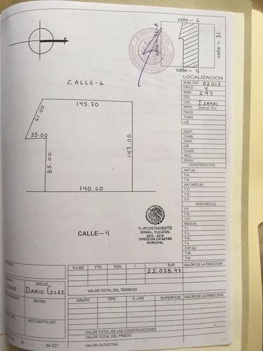 terreno para quinta en venta en izamal, yucatán.