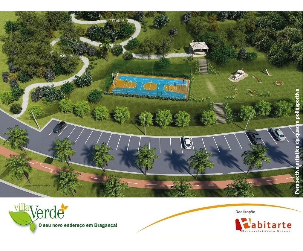 terreno para venda, 140.0 m2, villa verde - bragança paulista - 1595