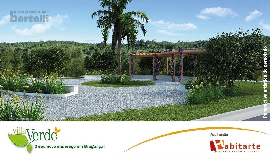 terreno para venda, 140.0 m2, villa verde - bragança paulista - 2387