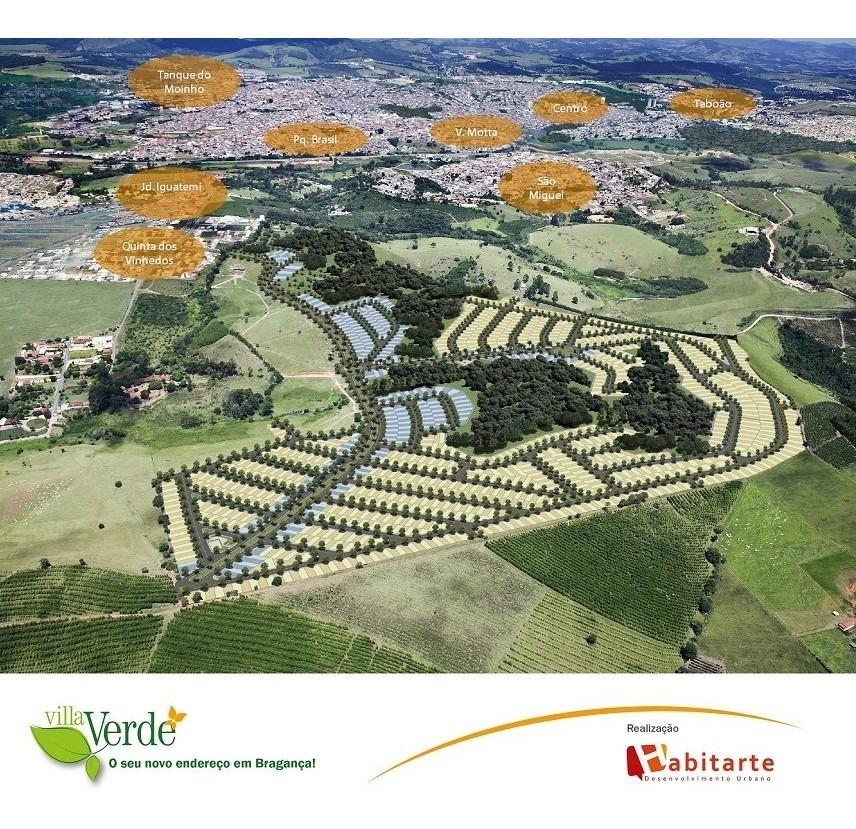 terreno para venda, 147.83 m2, villa verde - bragança paulista - 1348