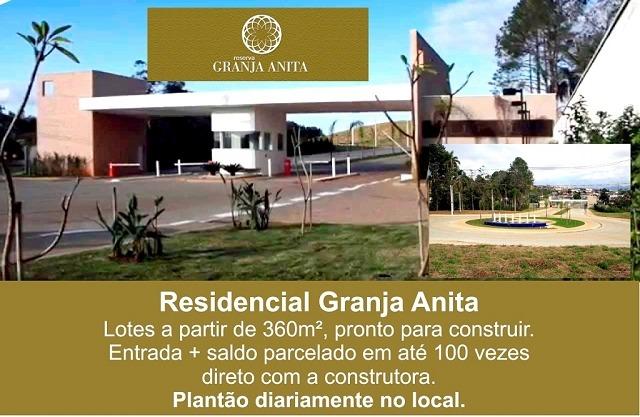 terreno para venda, 360.0 m2, granja anita - mogi das cruzes - 2079