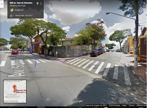 terreno para venda, 395.0 m2, vila conceição - diadema - 3973