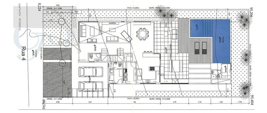 terreno para venda, 525.0 m2, granja viana - cotia - 2283