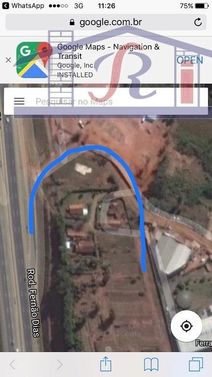 terreno para venda, 63145.59 m2, ribeirão dos porcos - atibaia - 8798