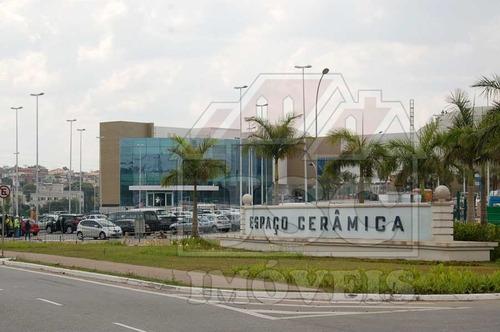 terreno para venda, 828.01 m2, cerâmica - são caetano do sul - 154024