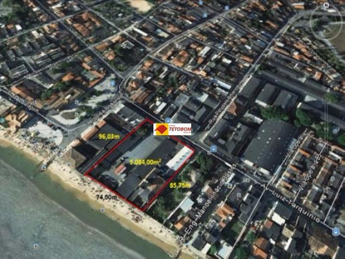 terreno para venda boa viagem,( cidade baixa)  salvador 5.084,00 construída, 5.084,00 útil, 5.084,00 total valor r$ 6.000.000,00 frente mar - tjn098 - 3216845