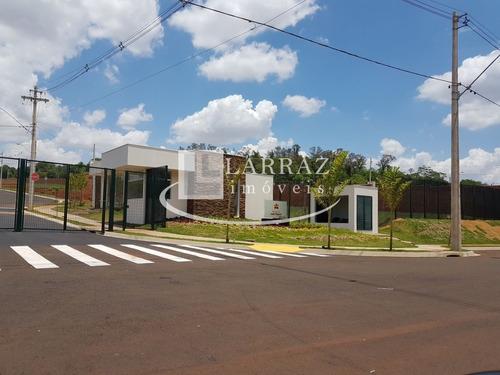 terreno para venda em bonfim paulista condominio terras de bonfm, praça san tiago, area 388 m2. condominio fechado - te00049 - 32039007