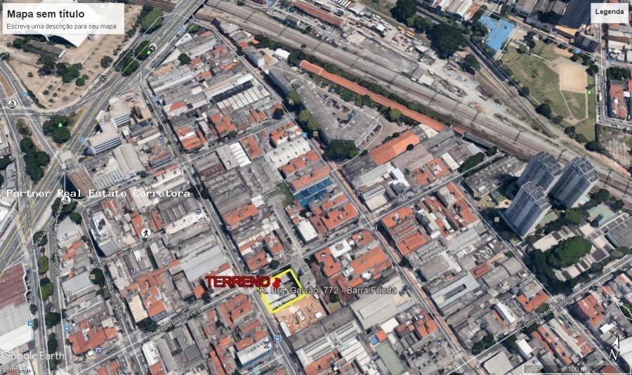 terreno para venda em são paulo, barra funda - 2518_2-834577