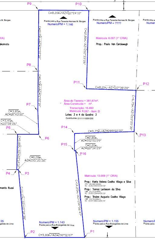 terreno para venda - franca/sp (bairro: centro)