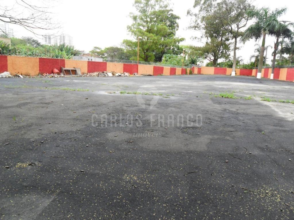 terreno para venda no bairro campo belo em são paulo - cod: cf5370 - cf5370