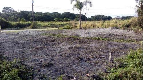 terreno parcelado em itanhaém-sp, com escritura - ref 4403-p