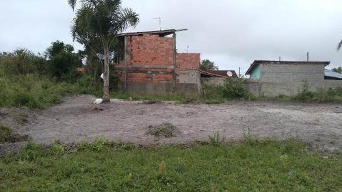 terreno parcelado em itanhaém-sp, confira - ref 4776-p