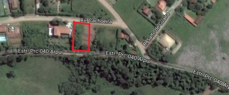 terreno piracaia 770m²