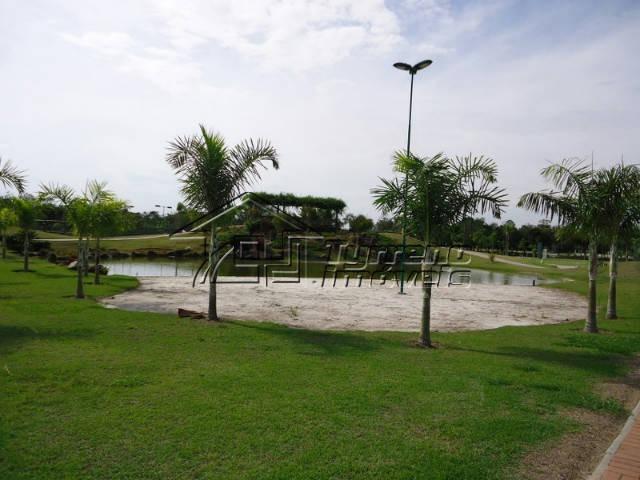 terreno plano em condomínio fechado de alto padrão - 1.200m² - sjc