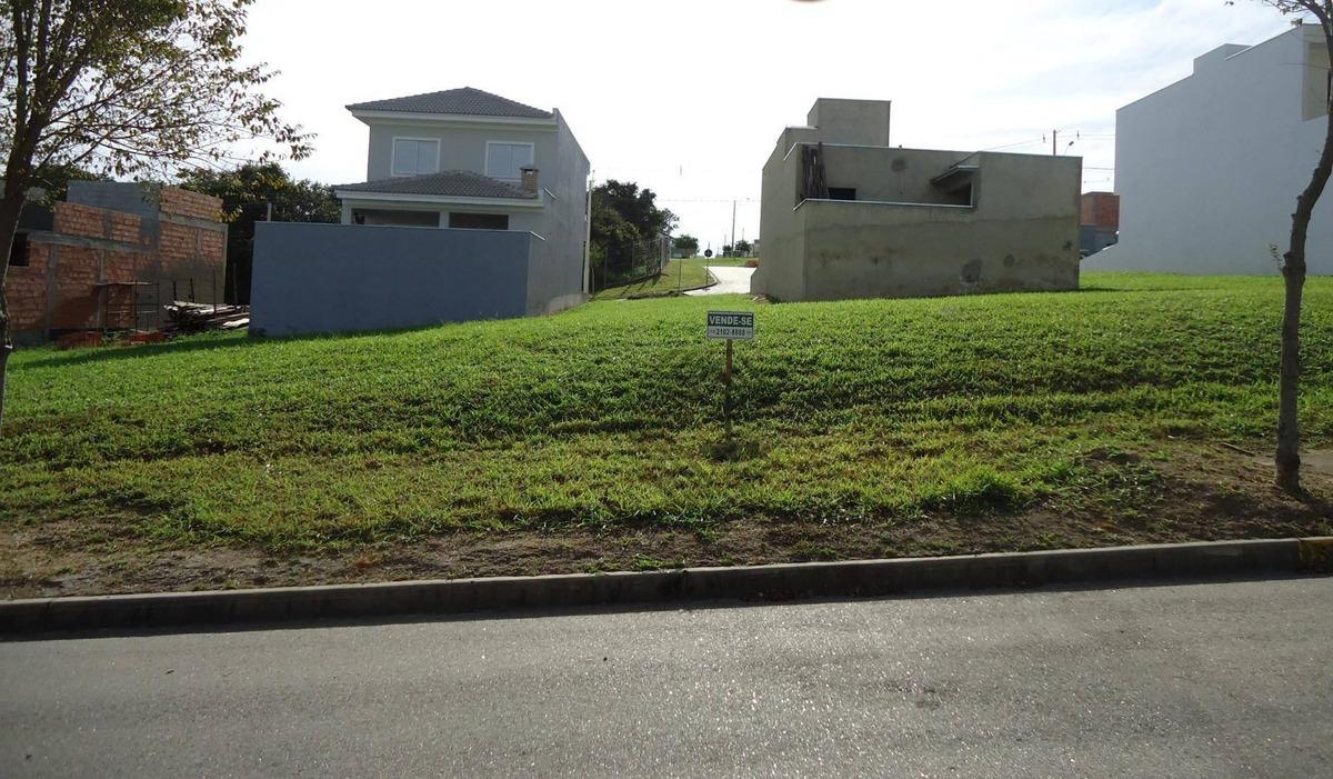 terreno plano no condomínio terras de são francisco - sorocaba/sp - te5013