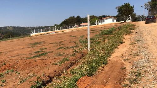 terreno plano pronto para construir 1000 m2 com agua e luz j