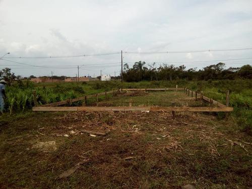 terreno plano,pronto para construir! peruíbe/sp ref. t1021