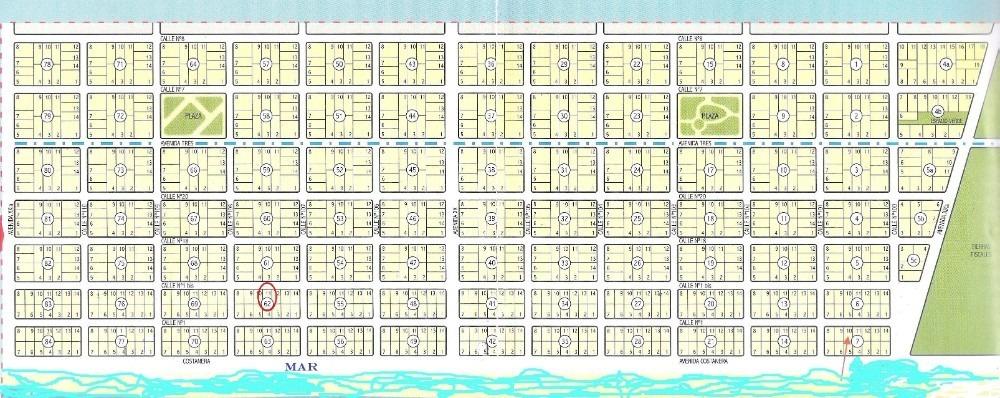 terreno playa grande san clemente del tuyú a 60 ms del mar