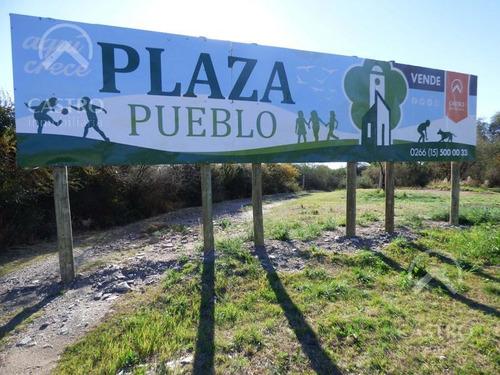 terreno - plaza pueblo